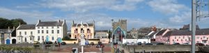 Portaferry from Strangford Ferry by Eric Jones