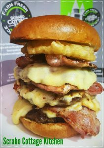 Scrabo Tower Burger