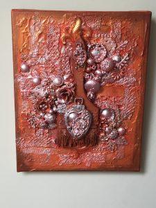Rust paintbrush