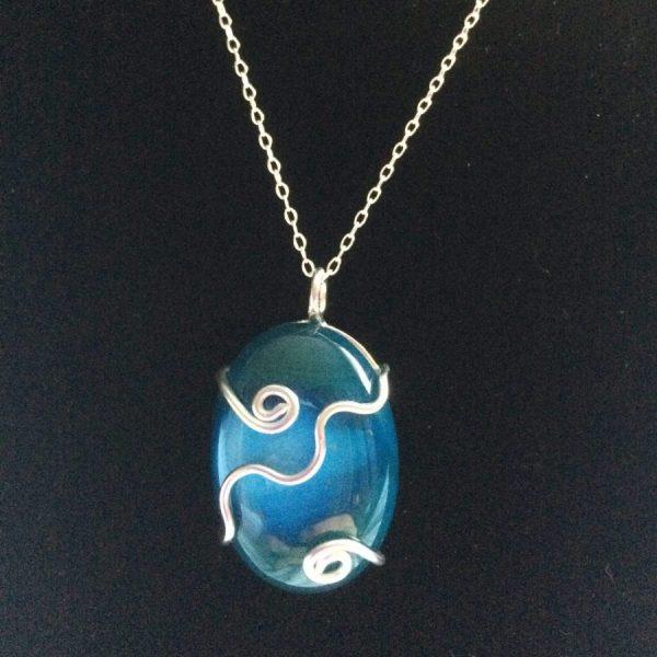 seashore blue agate