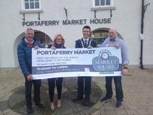 Councillor opens portaferry market