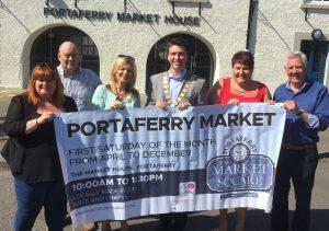 Mayor visits Portaferry Market House