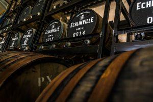Echlinville Distillery casks