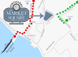 portaferry map parking directions