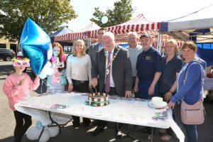 Alderman Bill Keery visits Market